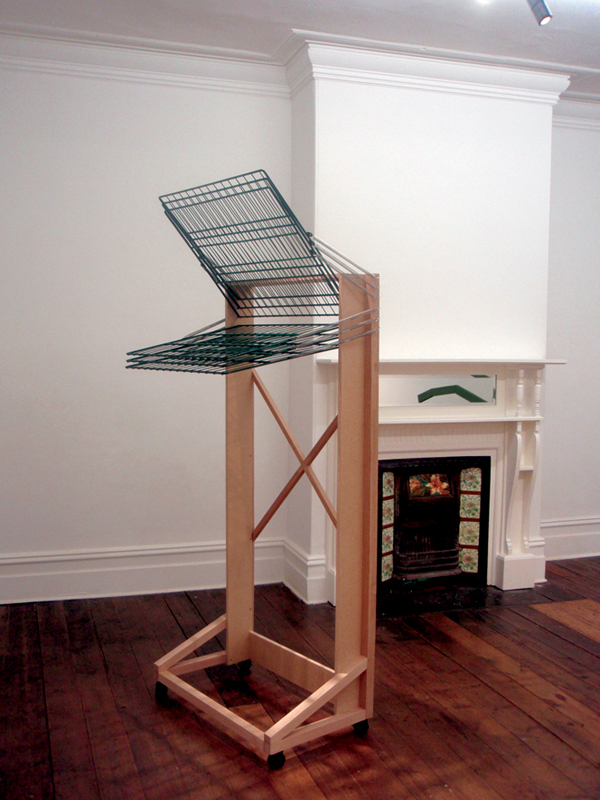 DRY GULLY: a drying rack for prints (2010)
